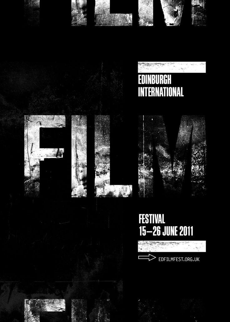 Edinburgh Film Festival Poster by September Industry