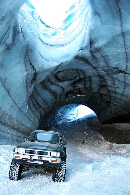 Icecave on Langjokull.