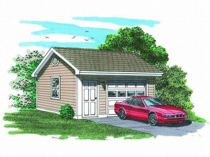 58 best 1 car garage plans images on pinterest garages for 5 car garage plans