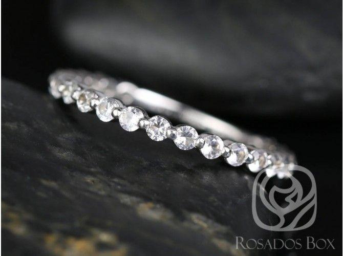Rosados Box Diamond Free Pee Naomi Bubble And Breathe 14kt White Gold Shire Weddingeternity Bandswhite