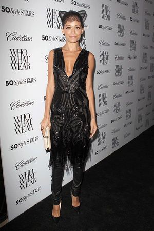 Nicole Richie Wore Lace Cat Ears
