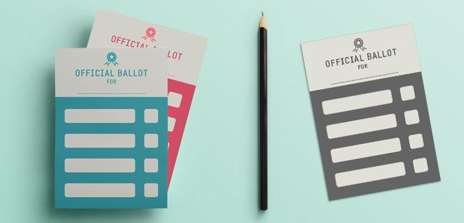 Voting Ballot Templates | Education | Pinterest | Voting ...