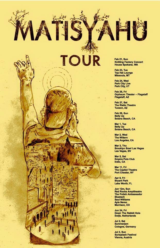 Matisyahu Tour Dates!