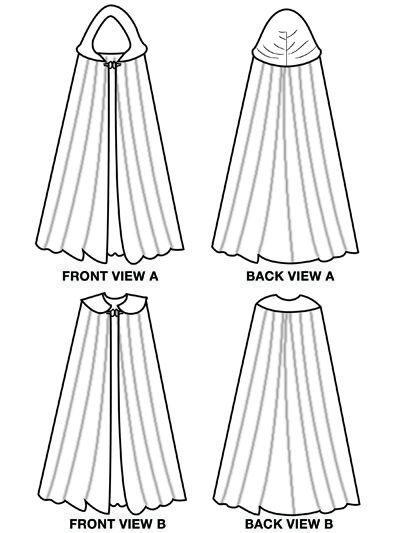 86 best cape pattern sewing free images on pinterest sewing ideas sewing projects and carnivals. Black Bedroom Furniture Sets. Home Design Ideas