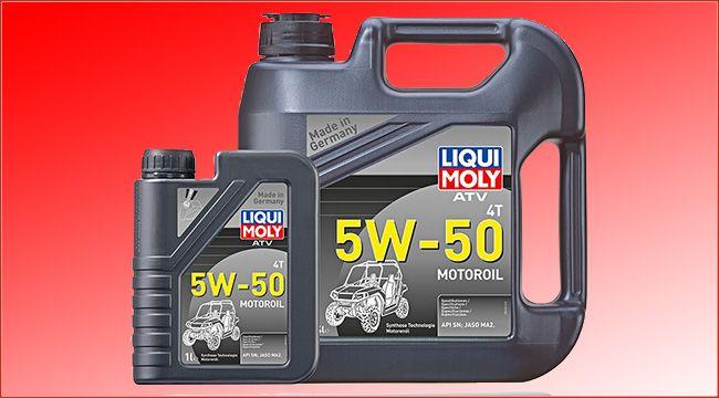 Liqui Moly ATV Motoröl: ATV 4T Motoroil 5W-50 Für ATVs, Quads und Side-by-Sides ist ATV 4T Motoroil 5W-50 entwickelt worden; ein spezieller Schmierstoff findet im Liqui Moly ATV Motoröl Anwendung https://www.atv-quad-magazin.com/liqui-moly-atv-motoroel-atv-4t-motoroil-5w-50/ #motoröl #liquimoly #offroad #schmierstoffe #atvquadmagazin