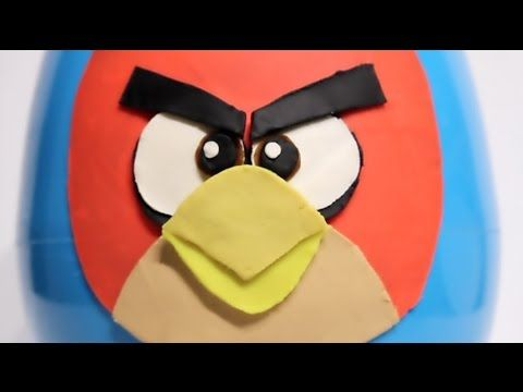 Toys for Kids   Play Doh Angry Birds Surprise Big Egg video: https://youtu.be/HD4BydhP6YM