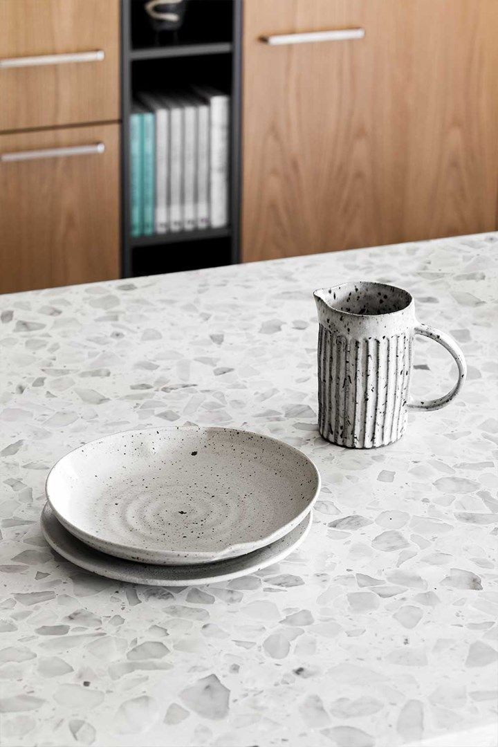 Terrazzo is trending - the 70s stoneware that has taken a seat at the contemporary table | Home Beautiful Magazine Australia