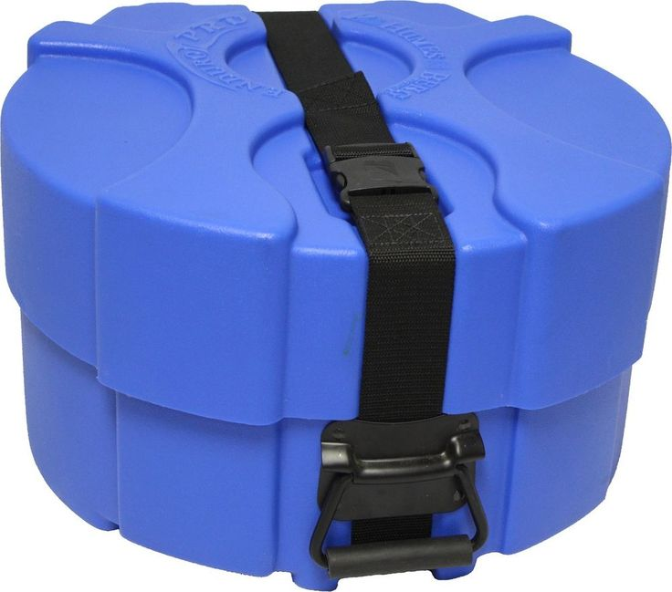 Humes & Berg Enduro Pro BLUE EP478BLSP 6.5 x 14 Inches Snare Drum Case with  #HumesandBerg