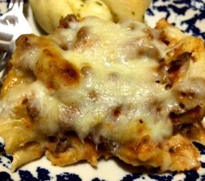Cream Cheese Pasta Bake