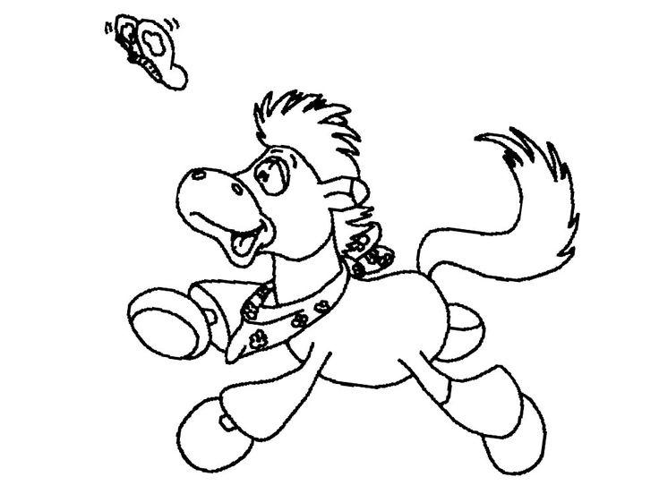 Dibujos De Caballos Para Colorear E Imprimir: Dibujo De Caballos Para Imprimir Y Colorear (5 De 12