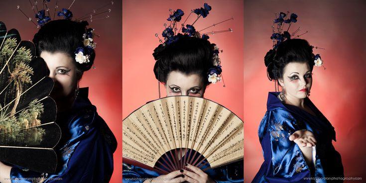 Katrina Cram Photography  #gothic #geisha #goth #gothgirl #gothicgirl #dark #fantasty #makeup #creative #sword #redlipstick #flowers #cherryblossoms #jocelynlothian #jocelynlothianalternativemodel  Find model on face book - Jocelyn lothian (alternative model)