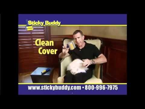 how to make your sticky buddy sticky again