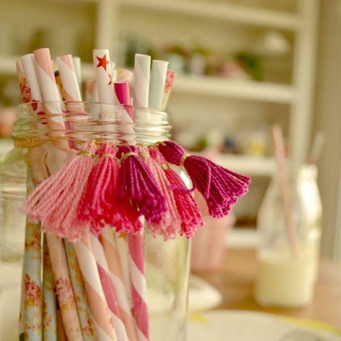 Tutorial: Como hacer borlas y usarlas para decorar