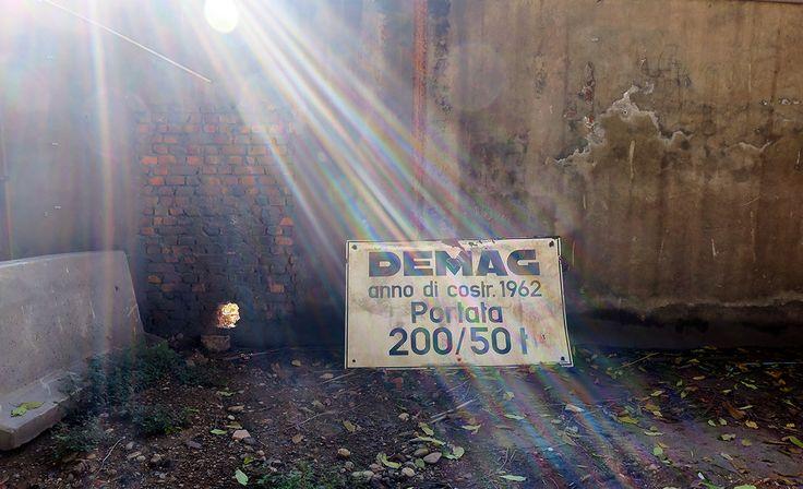 Old sign, Milan
