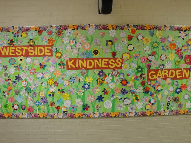 Gardening Ideas For Schools sunken flower pot paint pallet mosaic 250 Best Bulletin Board Ideas Images On Pinterest