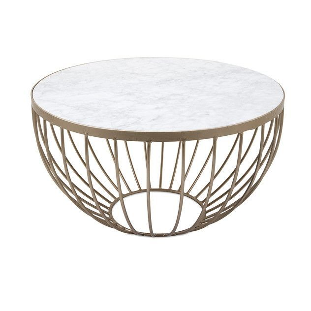 98 best living room images on pinterest living room for Beautiful white round coffee table
