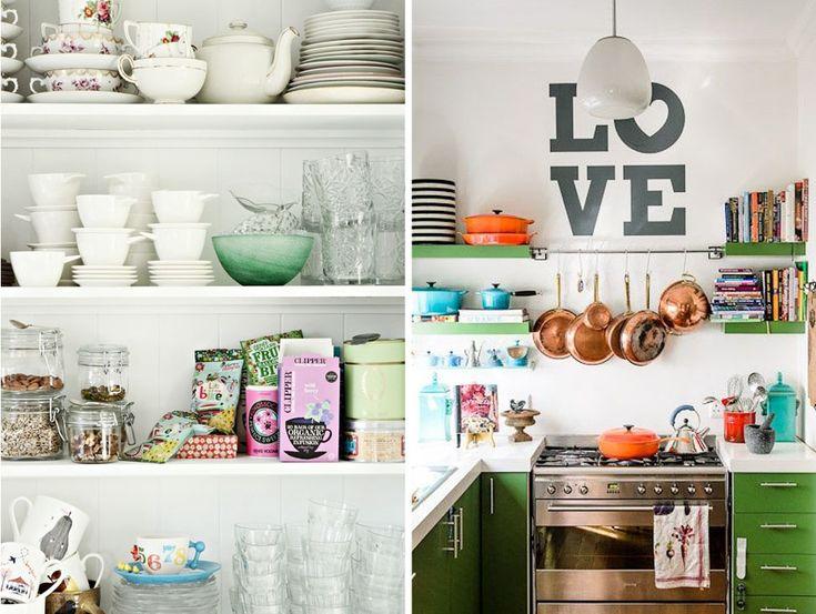 Open Kitchen Shelves 6