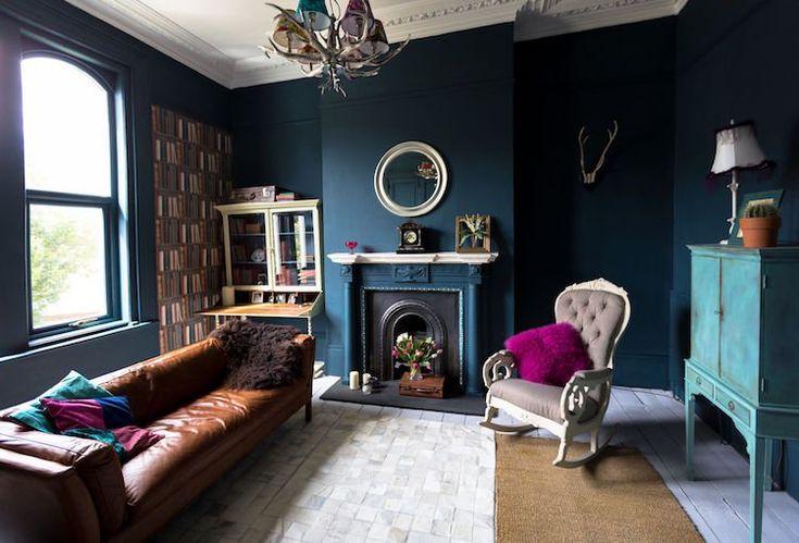 Superbe Description. Décoration Intérieure Salon De Style éclectique ...