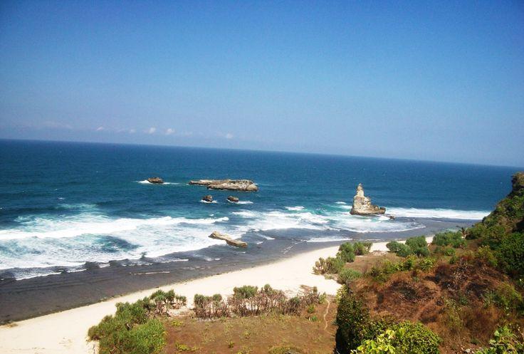 Buyutan Beach Pacitan, East Java, Indonesia