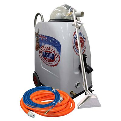Steamvac Magnum Carpet Cleaning Start Up Package For Sale - $4,180 inc GST. Steamaster offers a complete Portable Carpet and Upholstery Cleaner Package for you to start cleaning right away! For more information, visit www.steamaster.com.au or call us now on 1300 855 677
