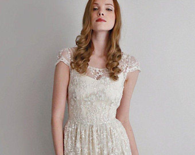 The Best Piece Wedding Dress Ideas On Pinterest Two Piece