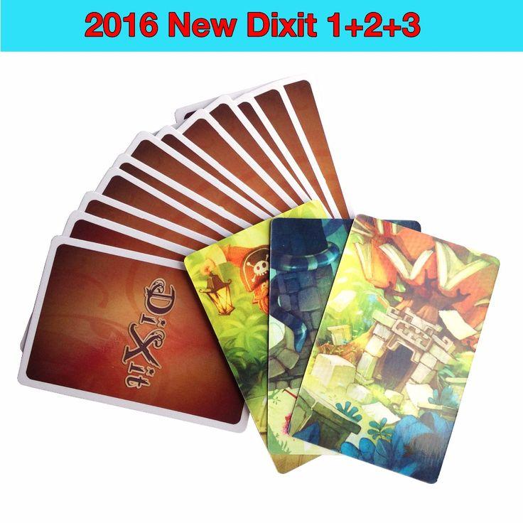 Dixit 1 2 3 4 5 6 7 dengan kartu kayu kelinci papan permainan meja permainan anak permainan untuk anak-anak Rusia dan Inggris instruksi keluarga