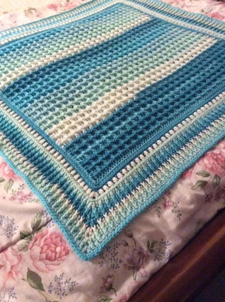 Caron Cakes Baby Blanket