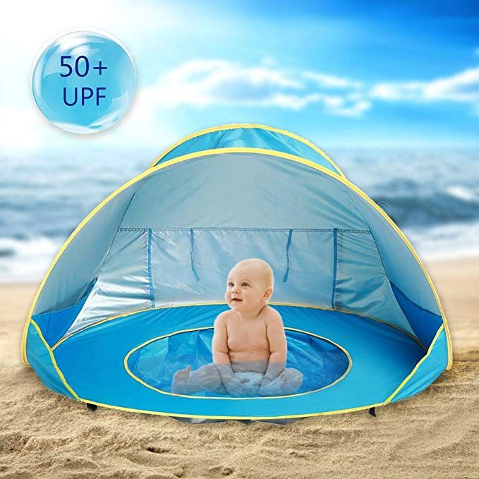 Baby Travel Beach Tent UV Protection Shelter Shade Water Pool Pop Up UPF 50+