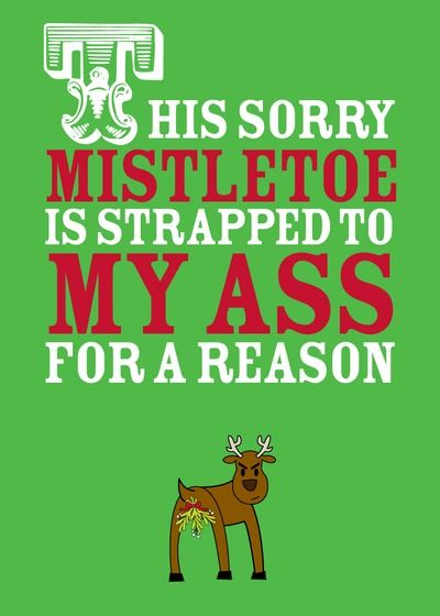 Misplaced Mistletoe - Christmas Greeting Cards in Grass | Magnolia Press Personalized Holiday cards from Treat.com:  Dust Jackets, Holidays Card, Christmas Greetings, Misplac Mistleto,  Dust Covers, Greetings Card, Products, Book Jackets,  Dust Wrappers