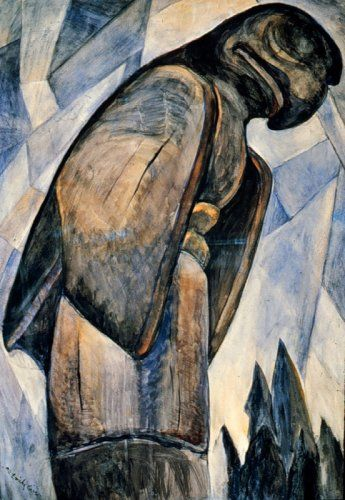 'Big Eagle, Skidegate, B.C.' / Emily Carr / Art Gallery of Greater Victoria
