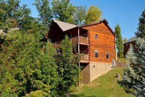 The Livin' the Dream cabin in Gatlinburg TN.