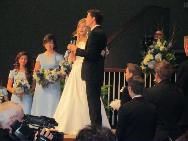 Would be so much fun to be able to sing with you're husband on you're wedding day...I hope I'll ...