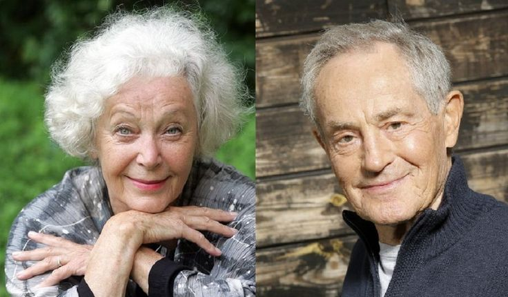 We regret to inform you, that two legendary Czech actors died this week. #JanTříska and #KvětaFialová.