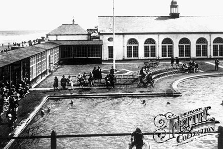 Prestatyn bathing pool, 1930s