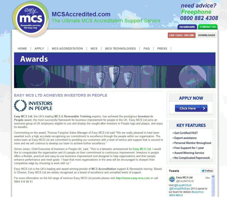 Easy MCS Ltd achieves Investors in People