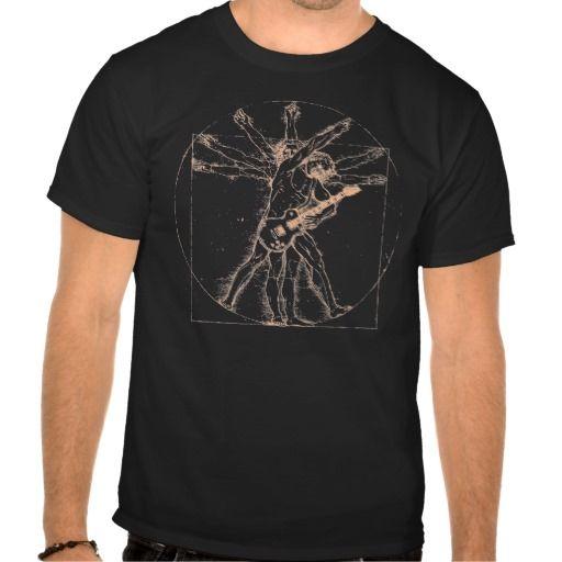 Vitruvian Rock II T-shirt