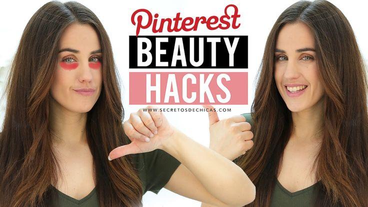 Probando trucos de Pinterest, beauty hacks