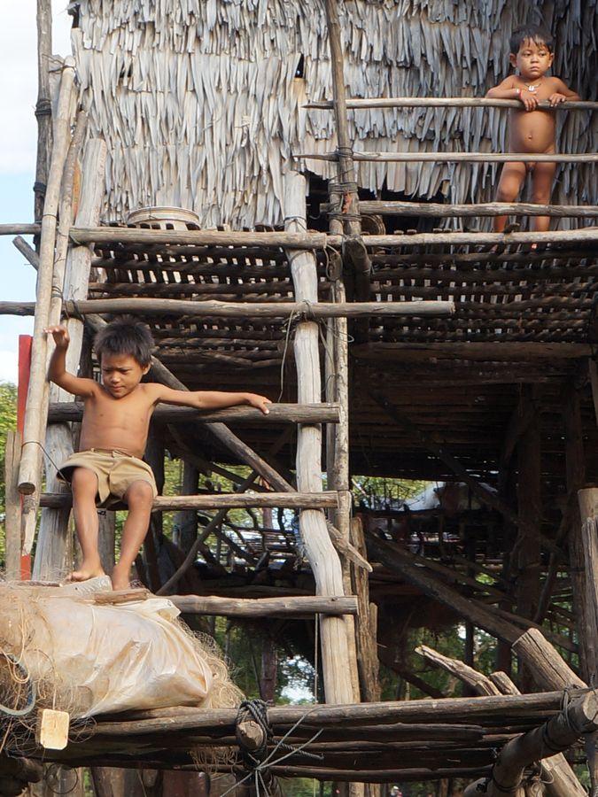 Floating Village, Cambodia by Michał Szczepaniak , via 500px