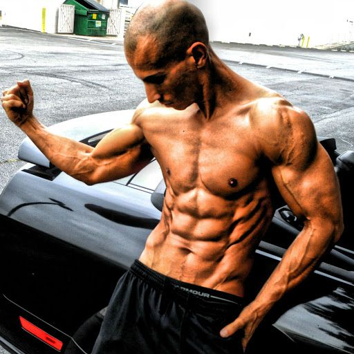 Frank Medrano Back Muscle