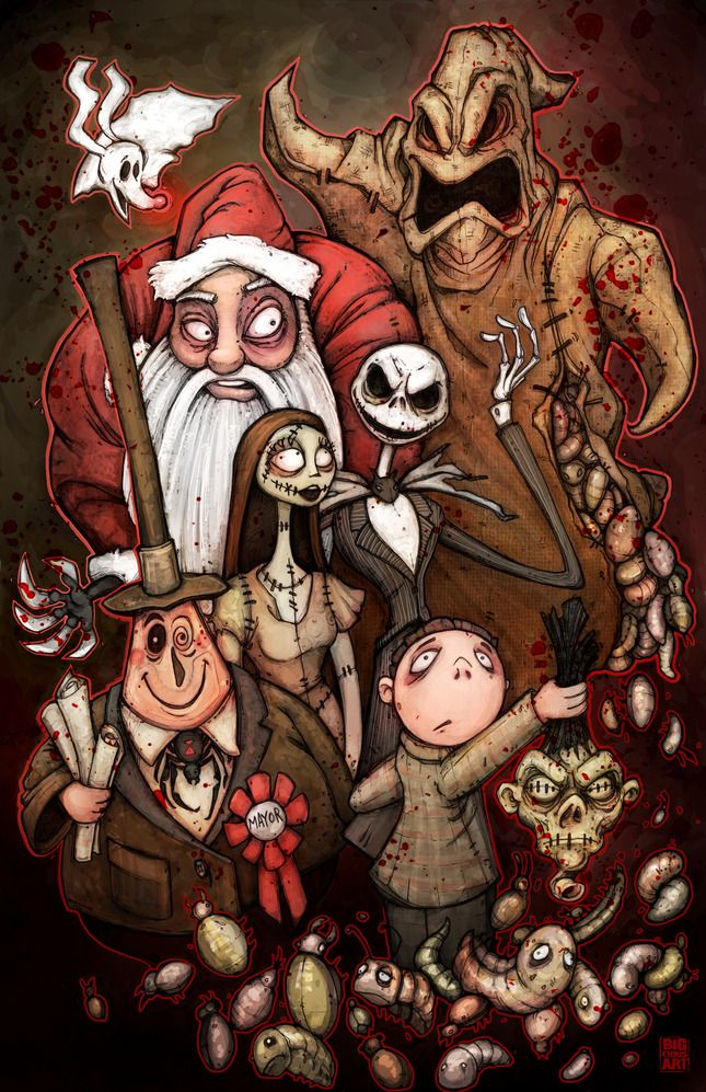 The nightmare befor christmas