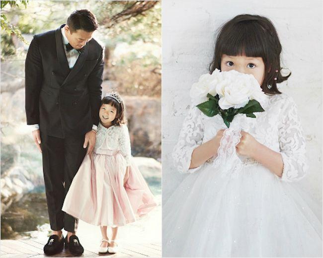 Return of Superman's Choo Sarang is an adorable little bride