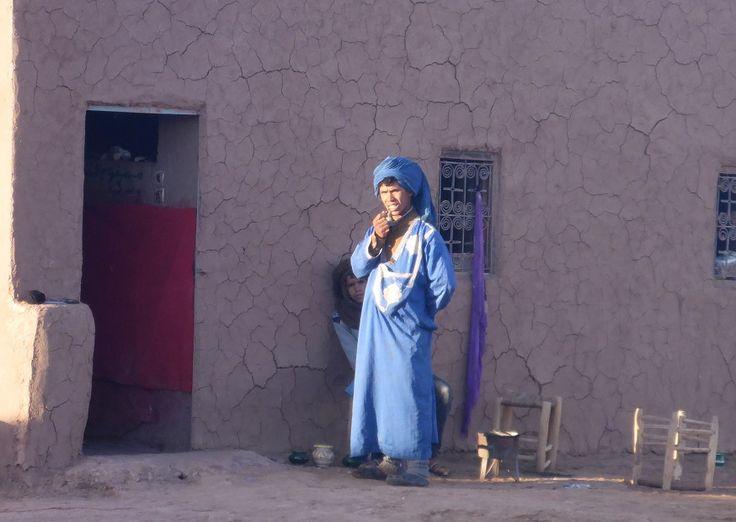 Berber man in Sahara Morocco