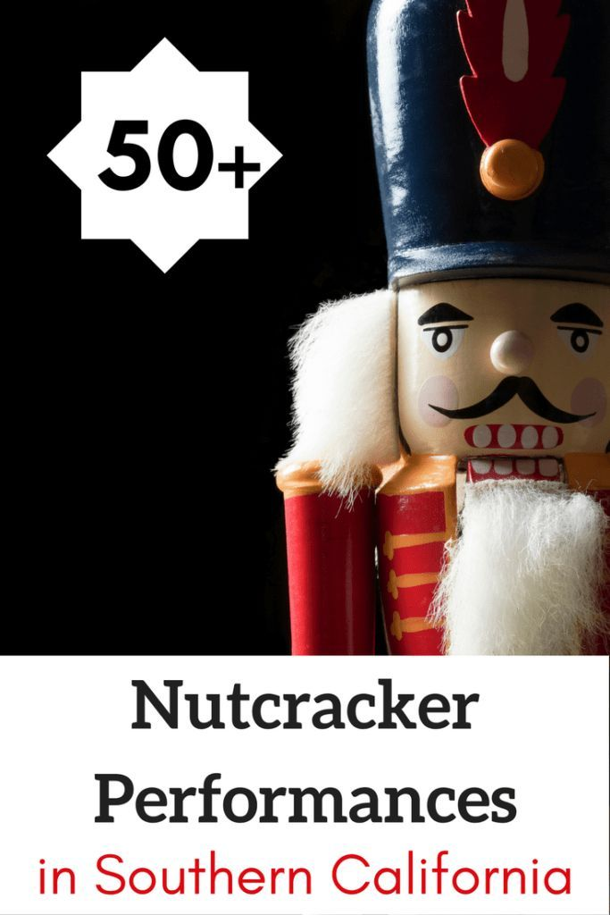 Do you want to take your family to see the Nutcracker?  Get discount tickets to over 50+ Nutcracker Performances in Southern California including Los Angeles, Orange County, San Diego, Santa Barbara, Riverside and San Bernardino. #nutcracker #christmas