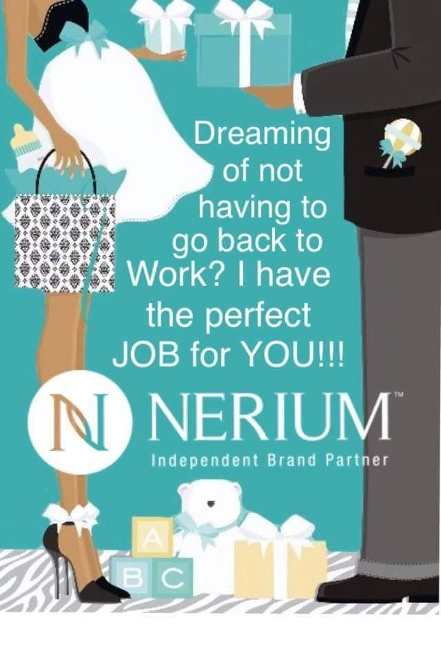 Here is the opportunity that can have you working at home. We are #1 in the anti-aging skincare industry ~ come find out why! I can't wait to welcome you to the Nerium Family!  www.Kimberlybeth.nerium.com