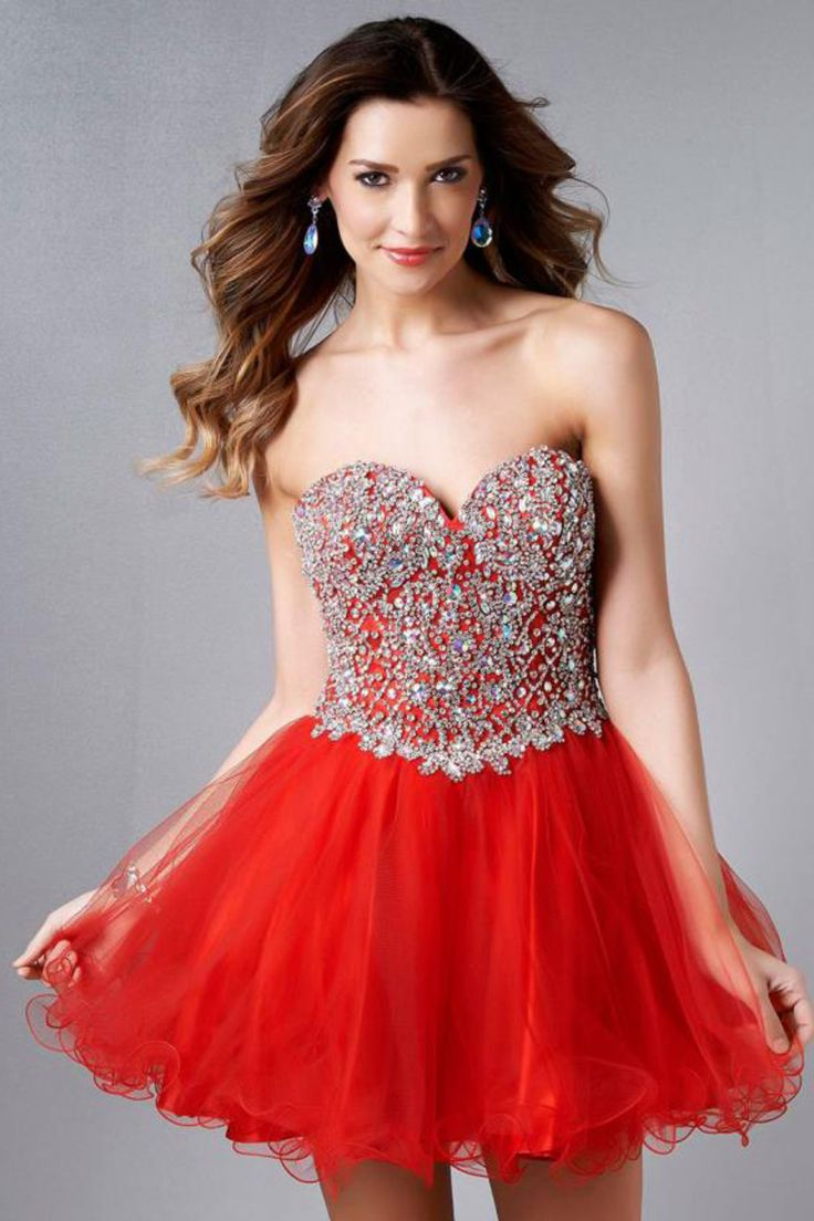 Lo lo lord and taylor party dresses - 2015 Sweetheart Full Beaded Bodice A Line Short Mini Homecoming Dress Tulle