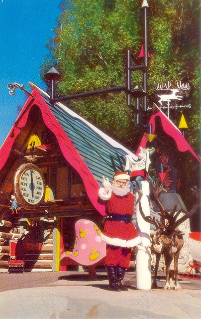 Santas Village CA by mod*mom, via Flickr