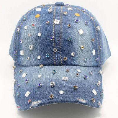 Country Girl Jewelry Studded Denim Hat