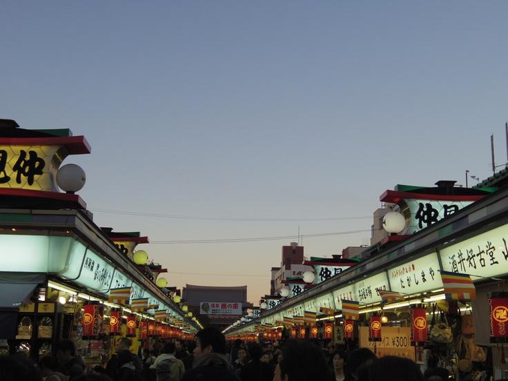 Nakamise Asakusa