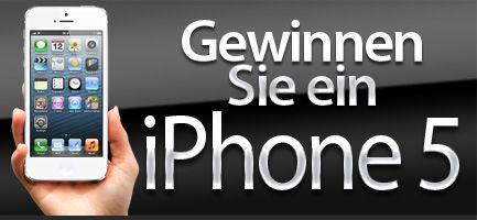 Gewinnen Sie einnew iPhone 5