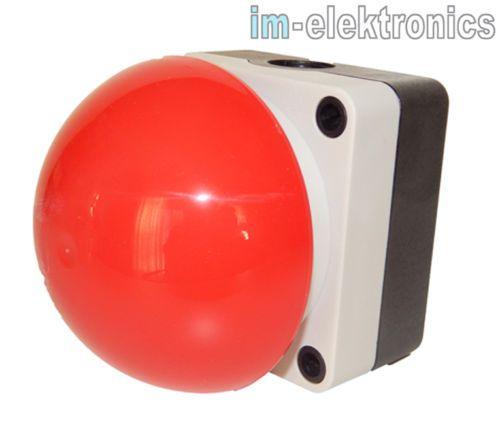 Für Photobooth | Grobhandtaster-Fusstaster-Pilztaster-Taster-IP65-Aufputz-Tor-Antrieb-Garagentor